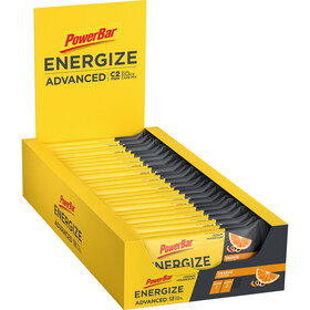 PowerBar Energize Advanced Boîte de barres 25x55g, Orange